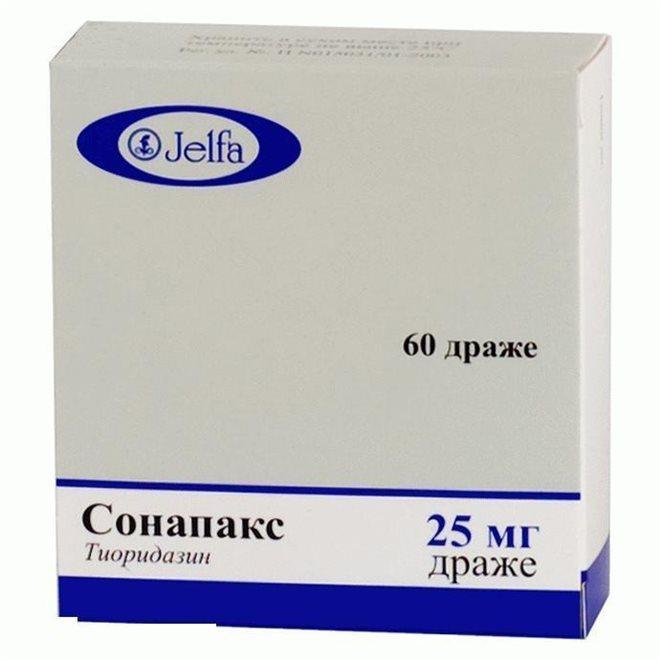 Сонапакс (Тиоридазин)