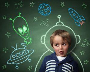 Все о развитии воображения у детей
