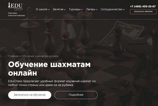 Edu Chess шахматы