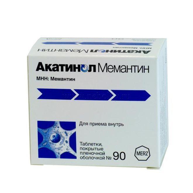 Акатинол Мемантин