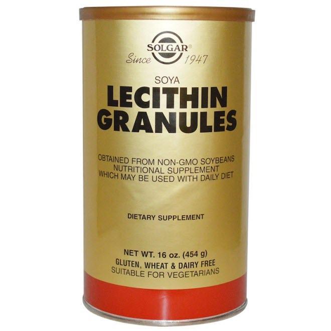 Solgar, Лецитин в гранулах