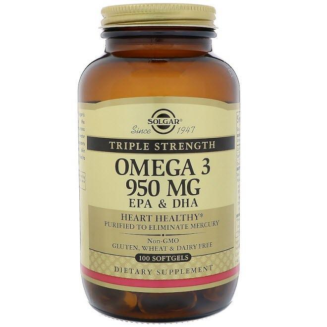 Solgar Омега 3 ЭПК и докозагексановая кислота